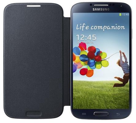 Flip Cover Noir pour Samsung Galaxy S4 gratuit (après ODR de 20€)