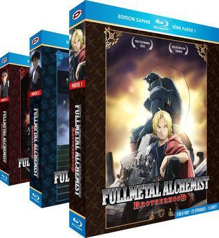 Coffret Blu-ray Fullmetal Alchemist: Brotherhood - L'Intégrale