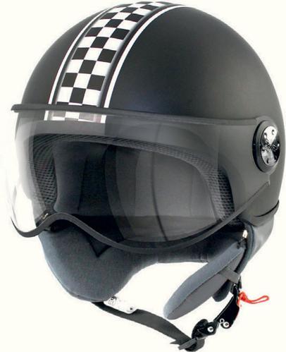 Casque Moto 1/2 Jet Café Racer