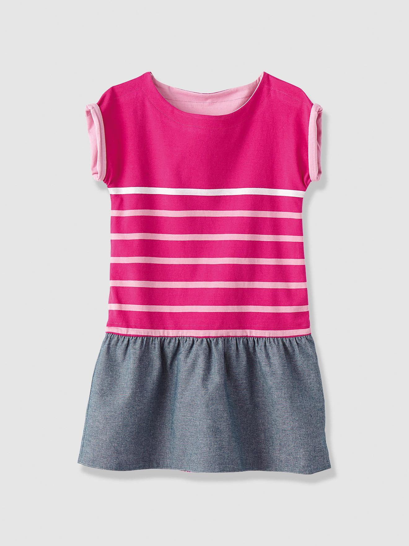 [Adhérents Club] Sélection d'articles pour Enfants en promotion - Ex : robe fille réversible (rose magenta)
