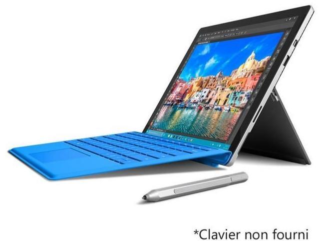 """Sélection de tablettes Microsoft Surface Pro 4 en promo - Ex : Tablette 12.3"""" Surface Pro 4 - Core M3, 4 Go RAM, 128 Go SSD"""