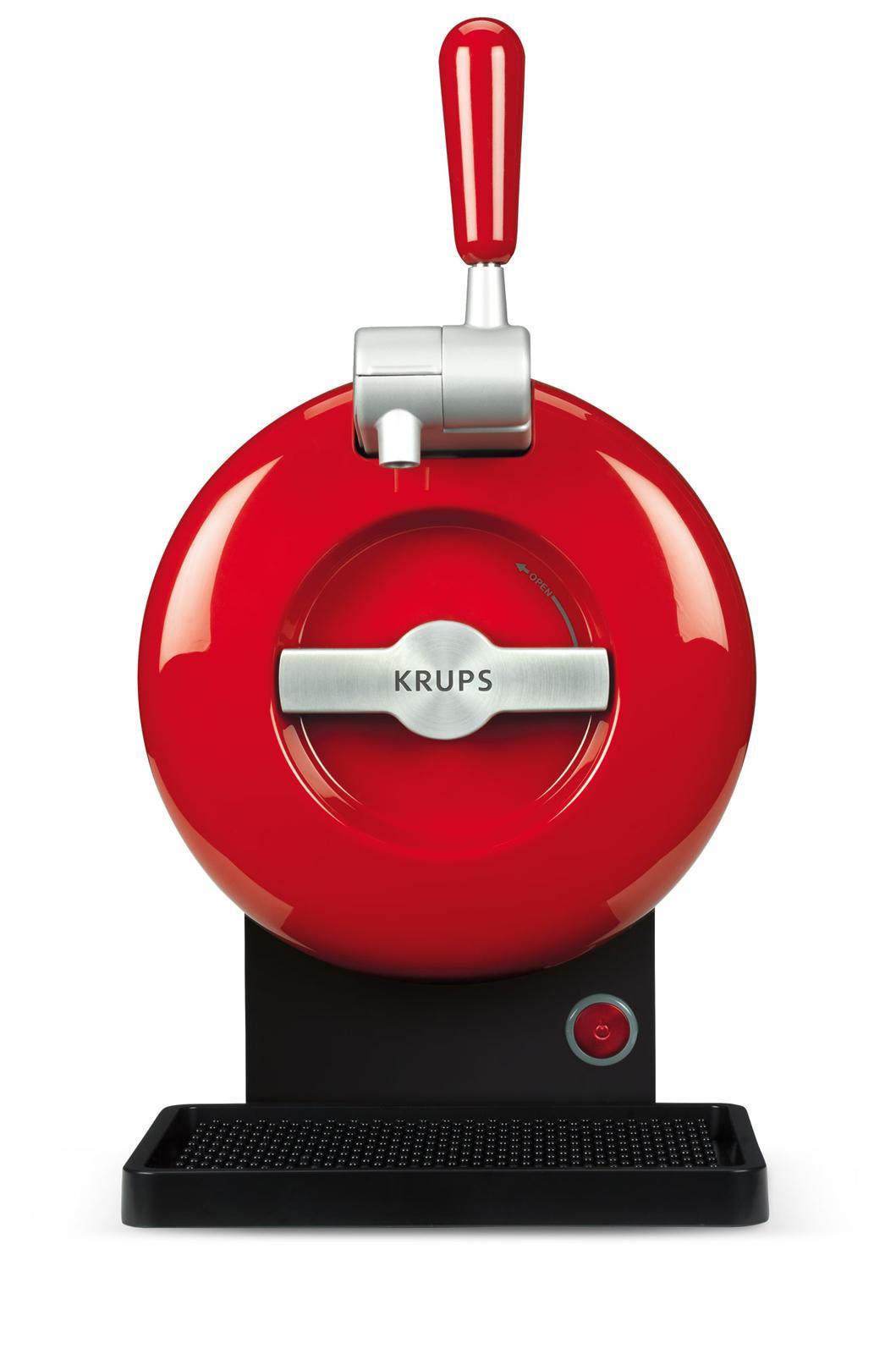 Coffret machine à bière Krups The Sub - rouge