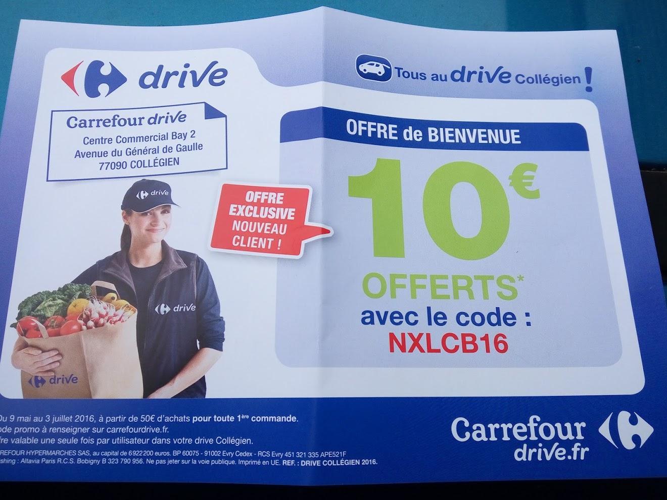 [Nouveaux clients] 10€ de réduction dès 50€ d'achats