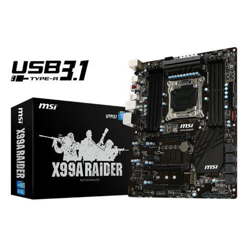 Carte mère MSI X99A Raider MSI-X99A-RAIDER