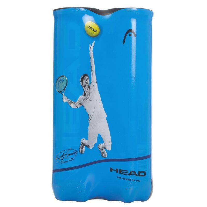 2 tubes de 4 balles de tennis Head Pro Team
