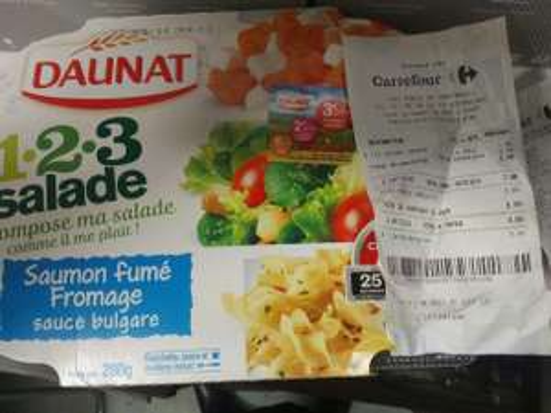 2 salades Daunat 123