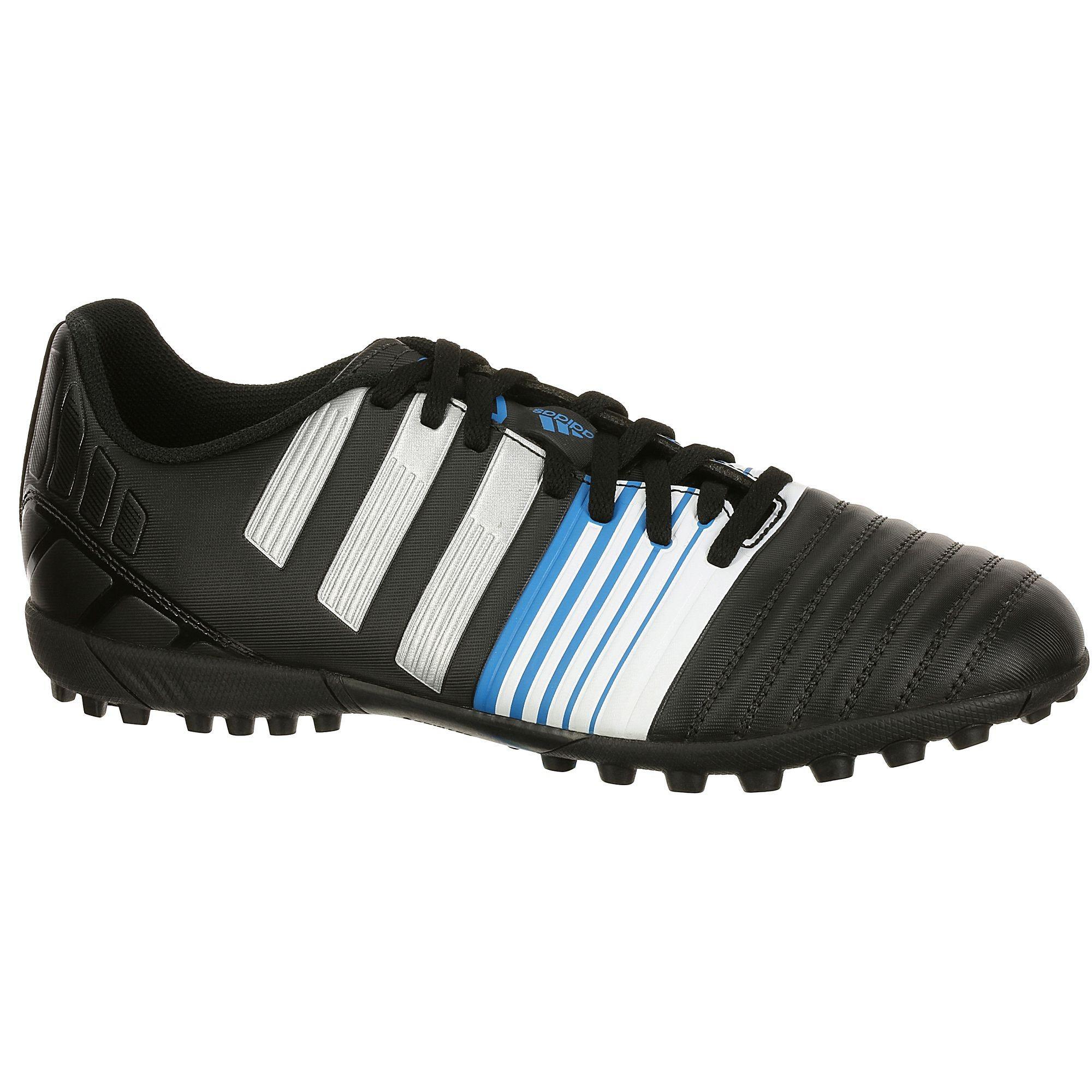 Chaussure de football Adidas Nitrocharge 4.0 TF - Noir