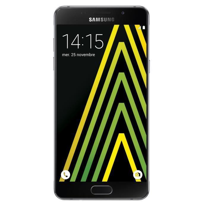 """Smartphone 5.2"""" Samsung Galaxy A5 2016 16 Go - Noir (via ODR de 50€)"""