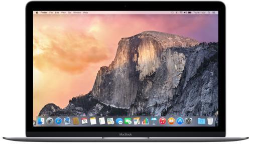 "PC Portable 12"" Apple MacBook 2015 - 8Go, 256Go SSD, argent"