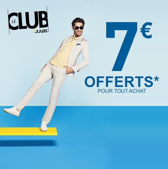 [Membres du Club] 7€ de réduction dès 10€ d'achat - Ex : 1 Boxer + 1 Paire de chaussette
