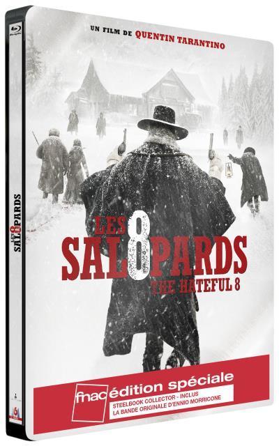 Précommande : Blu-ray Les 8 Salopards Edition Steelbook avec Bande Originale (+5€ en chèque cadeau pour les adhérents)