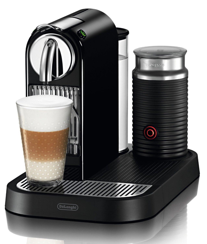 Machine à capsules DeLonghi EN 266.BAE Nespresso Citiz Noire - Reconditionnée