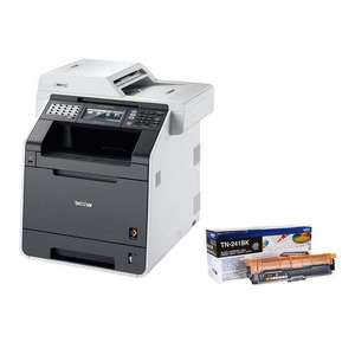 Imprimante Laser couleur Brother DCP-9020CDW + Toner Noir (via ODR de 60€)