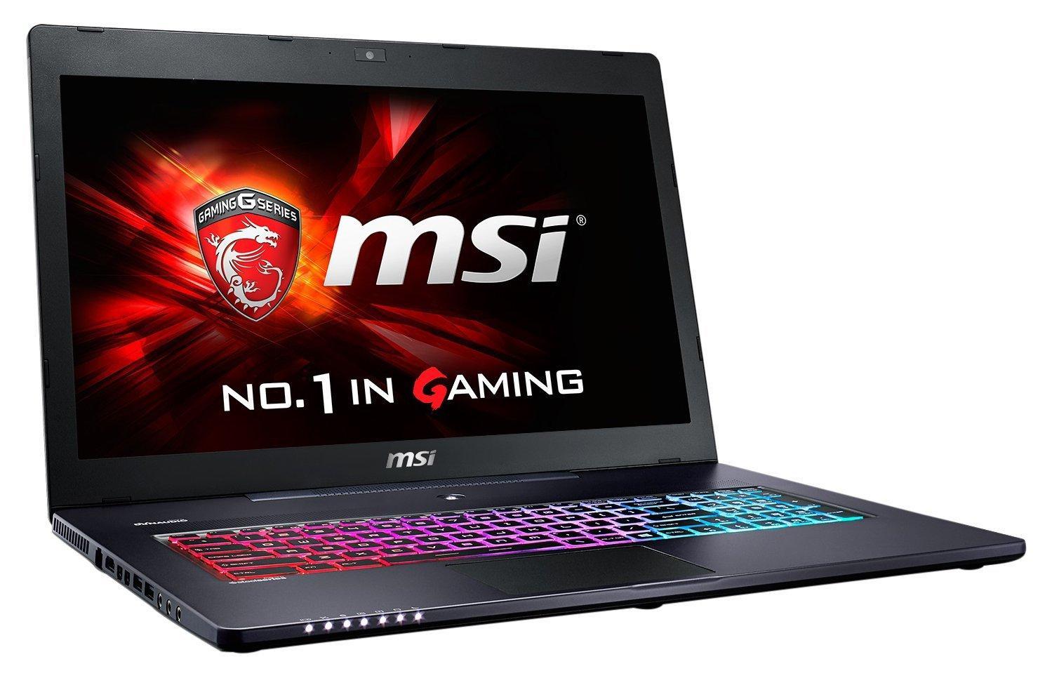 "PC Portable Gamer 17.3"" MSI GS70 6QE-276FR Gris - Full HD, i7-6700HQ 3.5 Ghz, RAM 16 Go, HDD 1 To + SSD 256 Go, GeForce GTX970M, Windows 10"