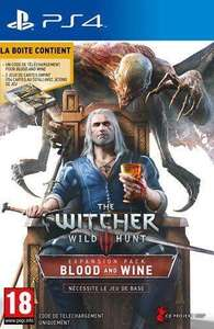 Précommande : The Witcher 3 : Wild Hunt extension Blood and Wine sur PS4