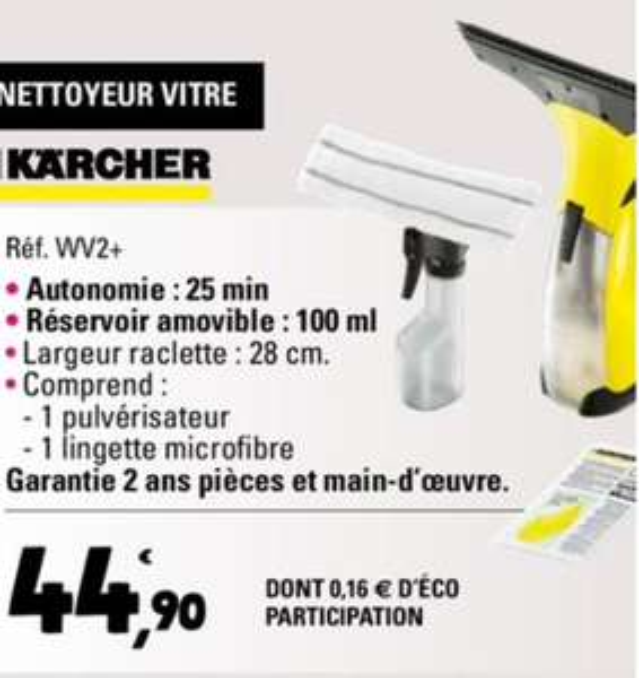 Nettoyeur vitre Karcher