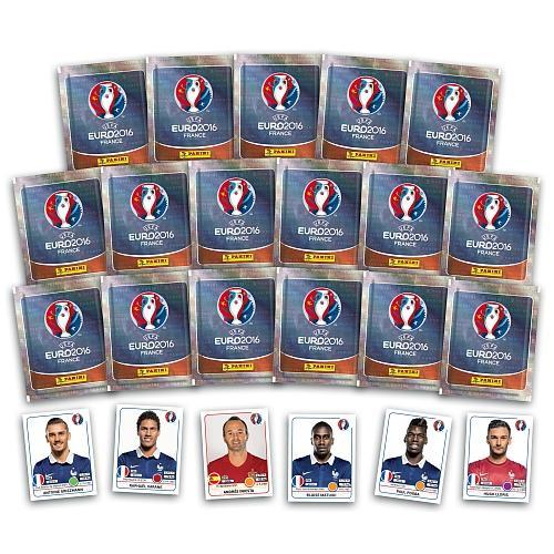 85 Stickers Panini Euro 2016