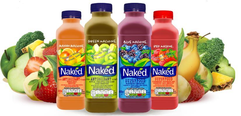 4 bouteilles de smoothie Naked gratuites - 45 cl (via Shopmium)