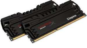 Kit de RAM Kingston HyperX Beast DDR3 PC3-12800 CL9 - 8 Go (2x4)