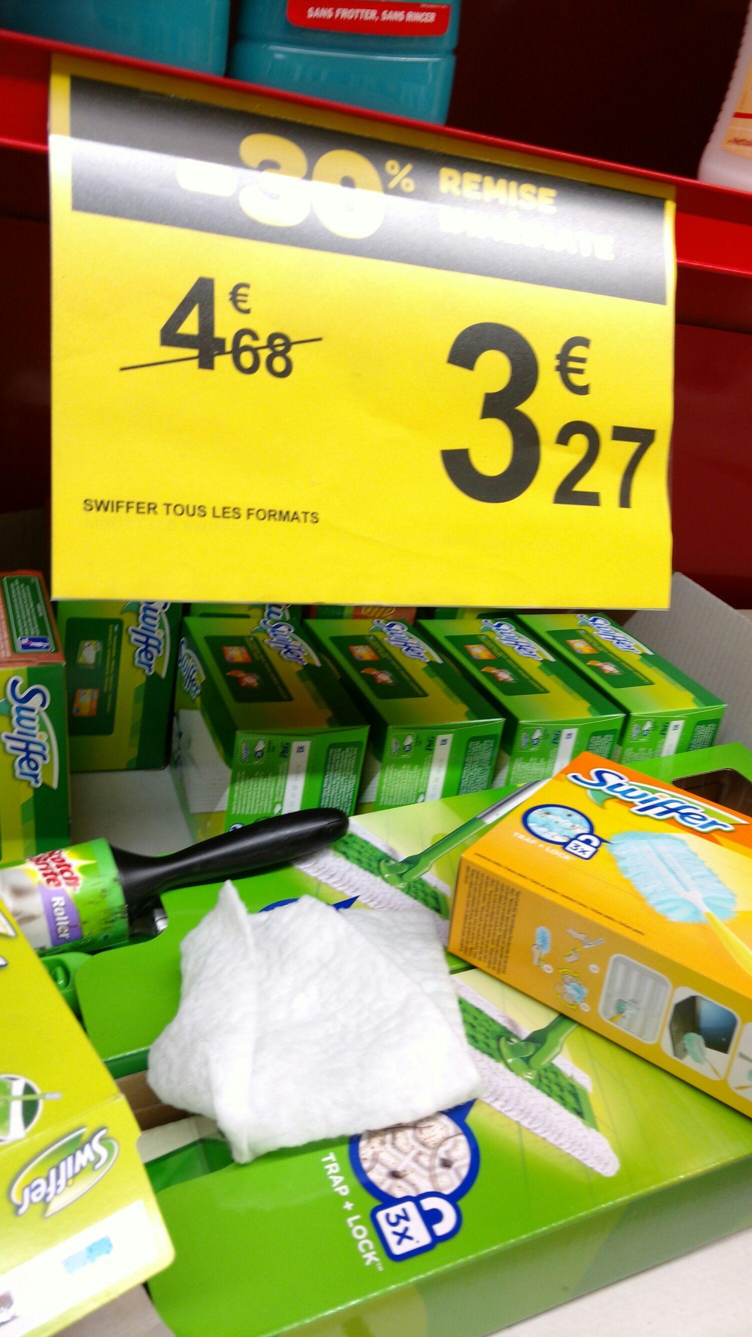 Balai Swiffer (via BDR et 1.41€ Remise immédiate)