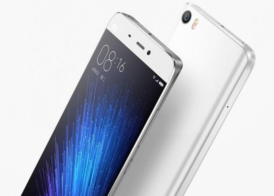 "Smartphone 5.15"" Xiaomi Mi5 Pro M5 Blanc -  RAM 4Go, 128Go"