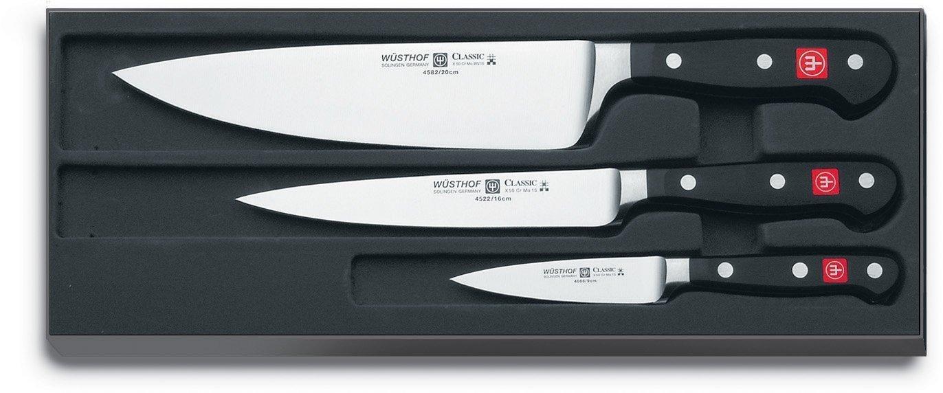 Coffret 3 couteaux Wüsthof TR9608 Classic