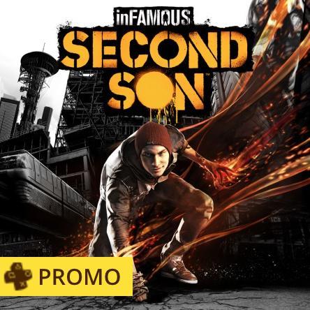 [Abonnés PS+] Sélection de promotions sur PS4 : Les folies de Mai - Ex : Jeu Infamous Second Son (Dématérialisé)