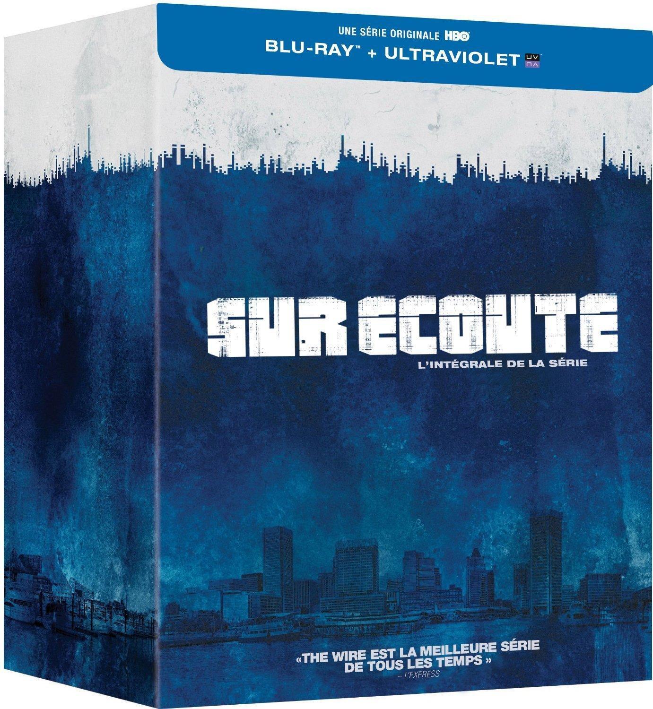 Coffret Blu-ray + Copie Digitale : L'intégrale de la série Sur écoute (the wire)