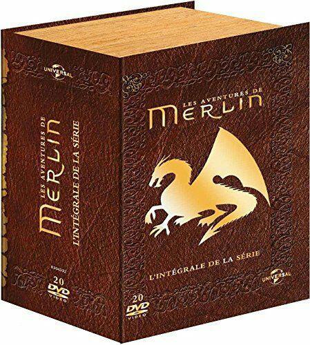 Coffret DVD : Merlin L'intégrale de la série Édition Grimoire