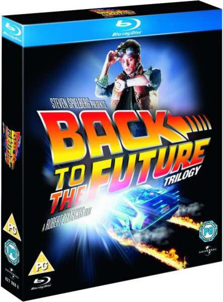 Coffret Blu-ray Trilogie Retour vers le futur (Seulement en anglais)