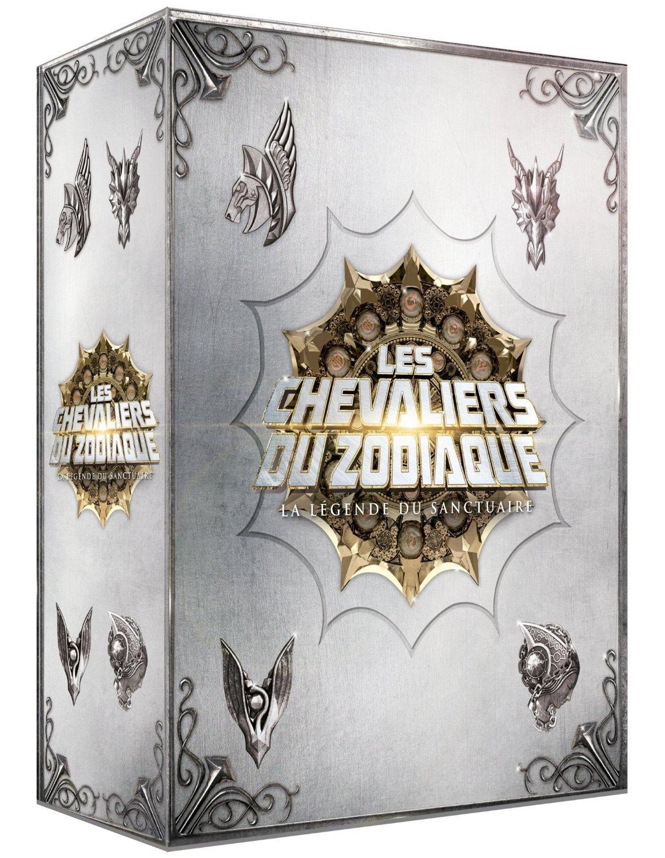 Coffret Blu-ray Les Chevaliers du Zodiaque : La légende du Sanctuaire (collector)