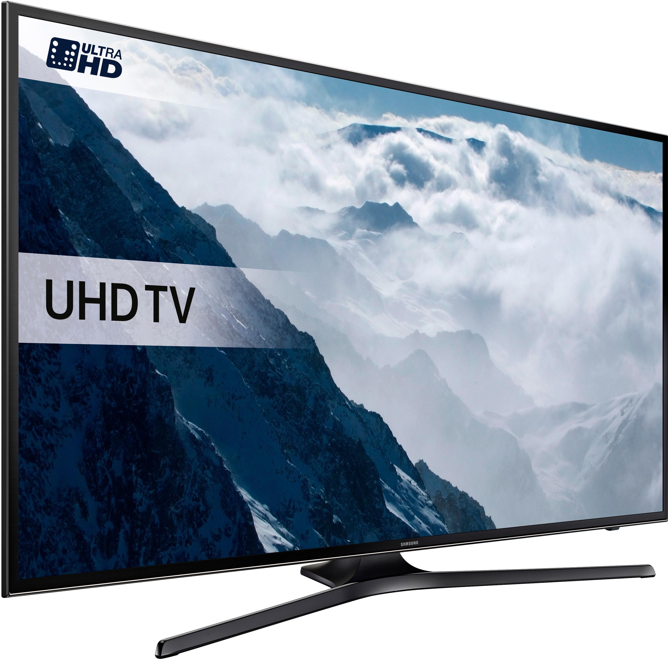 """Sélection de TV Samsung en promotion - Ex : TV 40"""" UE40KU6000 (Gamme 2016) - 4K - PQI 1300 (Via 138€ d'ODR) + Jusqu'à 206.99€ en Super Points"""
