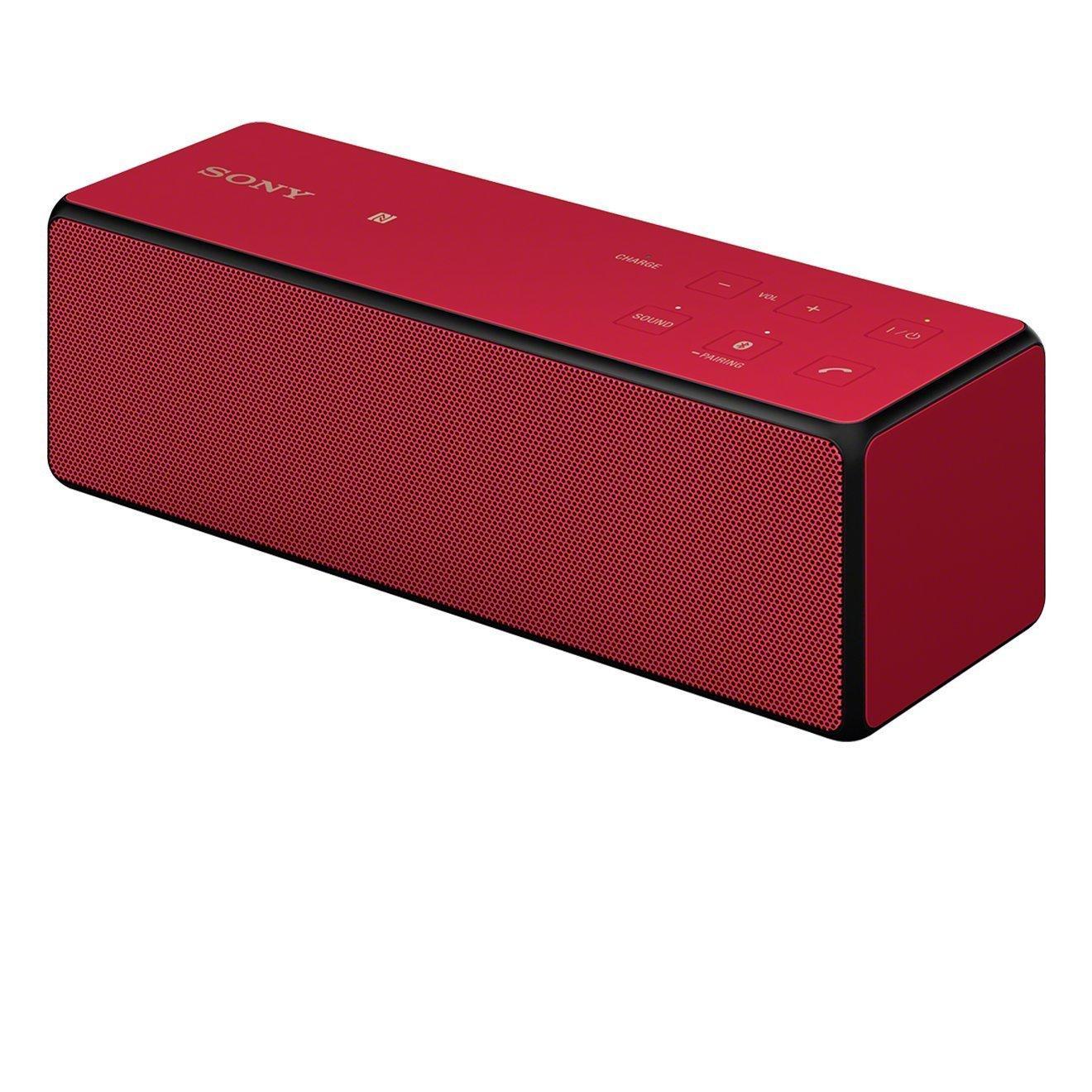 Enceinte bluetooth Sony SRS-X33 - rouge