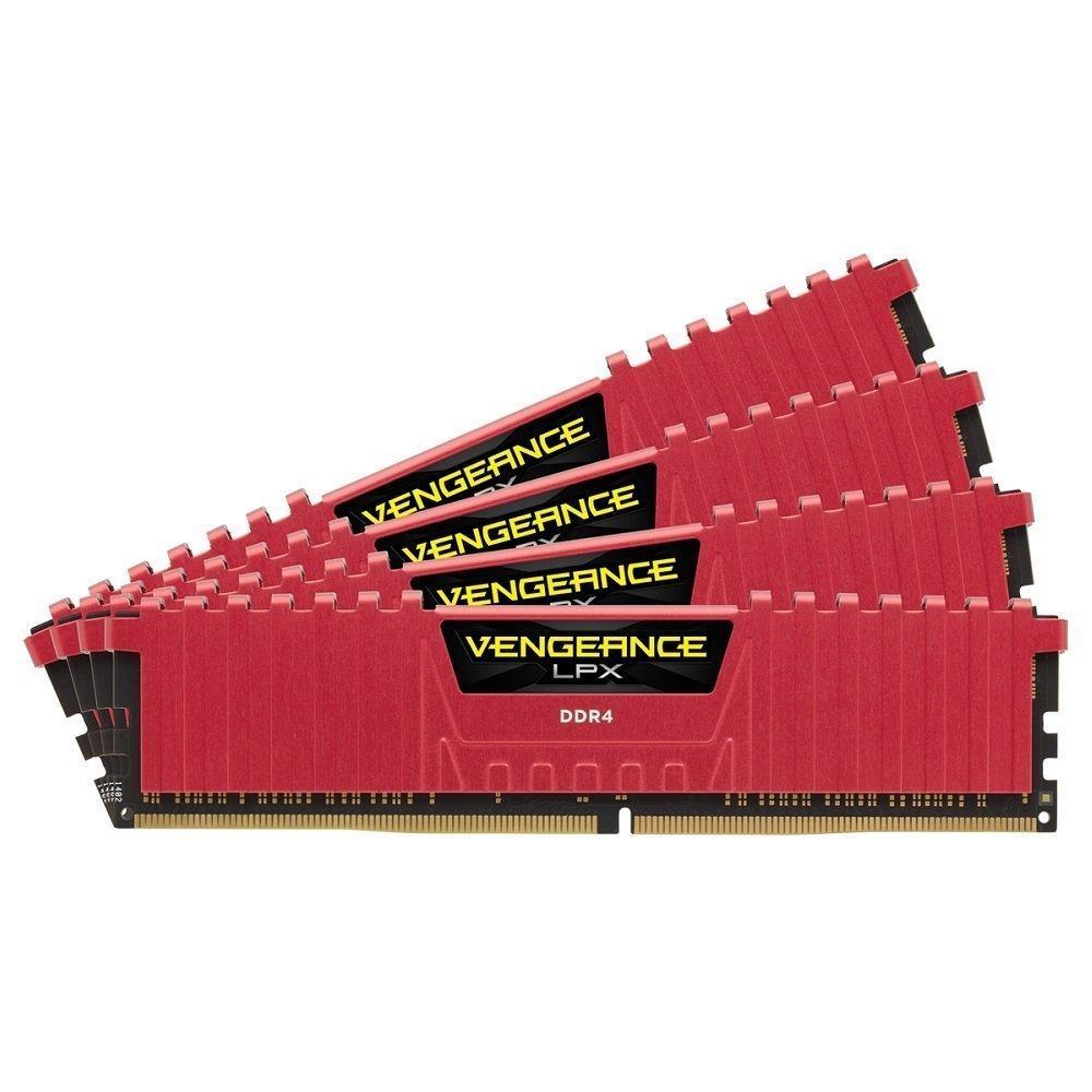 Kit mémoire Corsair Vengeance LPX - 16 Go (4 x 4 Go) DDR4 3200 MHz CL16