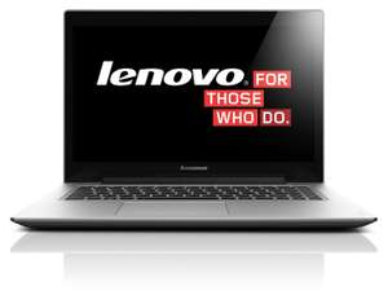 """PC Portable 14"""" Lenovo Ideapad U430 Ultrabook - i7-4510U 3.2GHz, RAM 8 Go, HDD 500 Go + SSHD 8 Go, GT 730M 2 Go (Clavier QWERTY)"""