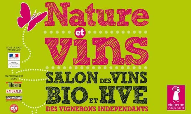 Invitation gratuite pour le Salon des Vins Biologiques 2016 à Paris du 27 au 29 mai