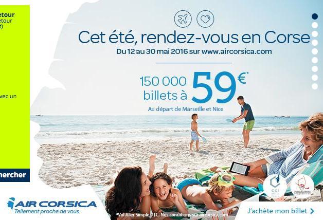 150 000 billets d'avion au départ de Marseille et Nice - Aller simple