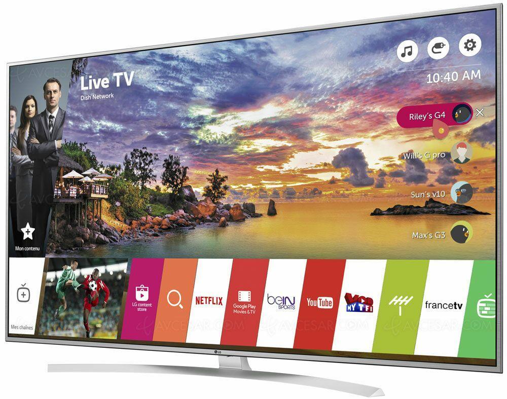 """TV 55"""" LG 55UH770V -  4K  - HDR (via ODR de 100€)"""