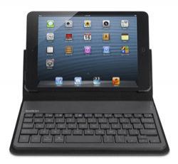 Belkin F5L145edBLK - Etui Folio avec clavier Bluetooth intégré pour iPad mini