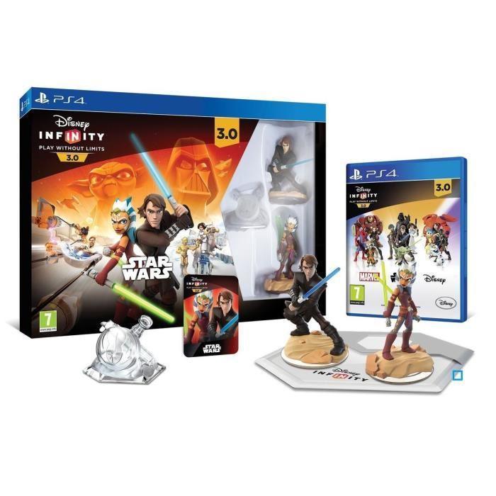 Pack démarrage Disney Infinity 3.0 Star Wars sur PS4, PS3, Xbox One, Xbox 360, Wii U