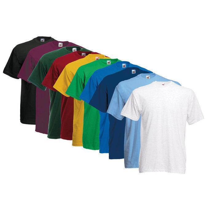 lot de 10 t shirts fruit of the loom. Black Bedroom Furniture Sets. Home Design Ideas
