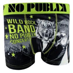 50% de réduction sur une sélection de Boxers - Ex : Boxer Wild Rock Band