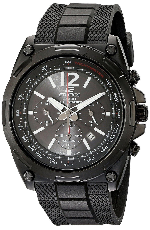 Selection de montres Casio en promotion - Ex : Quartz Analogique Edifice EFR-545SBPB-1BVER pour Hommes (Noir)