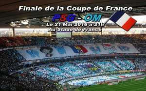 Place + Transport en train pour la finale OM-PSG le 21 mai au Stade de France
