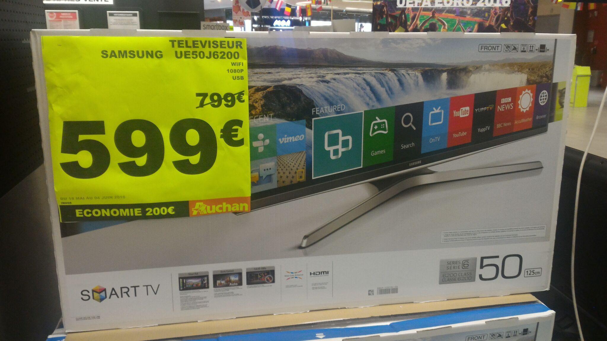 "TV 50"" SamsungUE50J6200 - Smart TV, LED, Full HD"