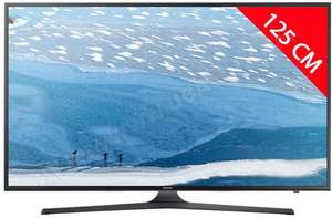 "TV 50"" Samsung UE50KU6000 - LED, 4K (via ODR de 20%)"