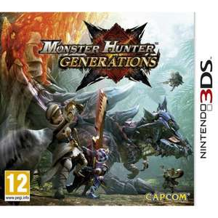 [Précommande] Monster Hunter Generations sur Nintendo 3DS