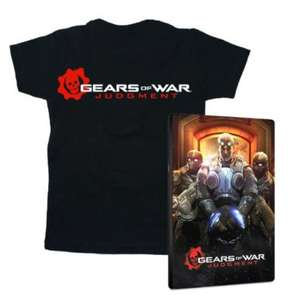 Gears of War Judgment + Steelbook + T-Shirt (Taille L ou M)