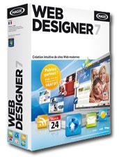 Logiciel magix Webdesigner 7 gratuit (Au lieu de 49,99€)