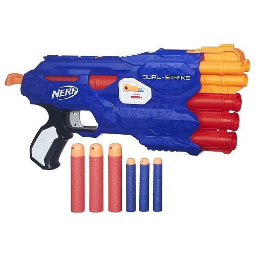 Sélection de jouets Nerf en promotion - Ex : Pistolet Nerf Elite - Dual-Strike (via ODR de 9.75€)
